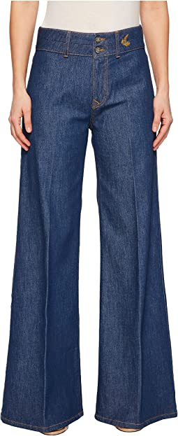 Vivienne Westwood Apollo Flare Jeans in Blue Denim