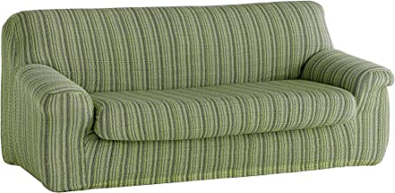 Amazon.es: Fundas Sofa Elasticas 3 plazas color verde
