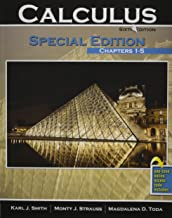 Calculus: Special Edition: Chapters 1-5