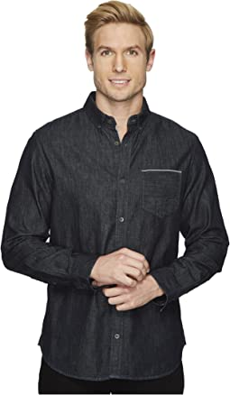Calvin Klein Jeans - Black Selvedge Denim Shirt