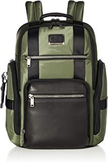 TUMI - Alpha Bravo Sheppard Deluxe Brief Pack Laptop Backpack - 15 Inch Computer Bag for Men and Women - Forest