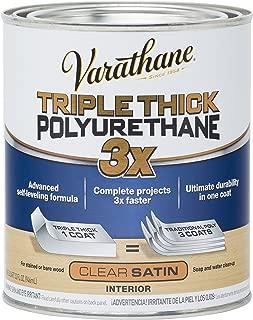 Rust-Oleum 284473 Varathane Triple Thick Polyurethane, Satin