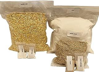 Genuine North Georgia Still Company Complete Cracked Corn, Malted Barley Whiskey Mash & Fermentation Kit