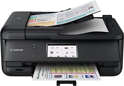 Canon PIXMA TR8520 Wireless All in One Printer | Mobile Printing | Photo and Document Printing, AirPrint(R) and Googl...