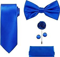 5 عدد کیسه ای که در یک جعبه هدیه قرار دارد: مجموعه کیسه ای: کلاسیک کراوات گردن، کراوات ساتن کراوات، پاکت پی سی، لبه، دکمه ها