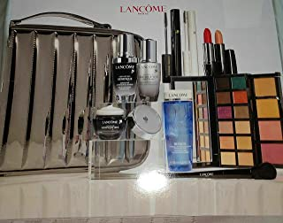 Lancome BEAUTY BOX 10 Full Size Products MAKEUP +TRAIN CASE 2020