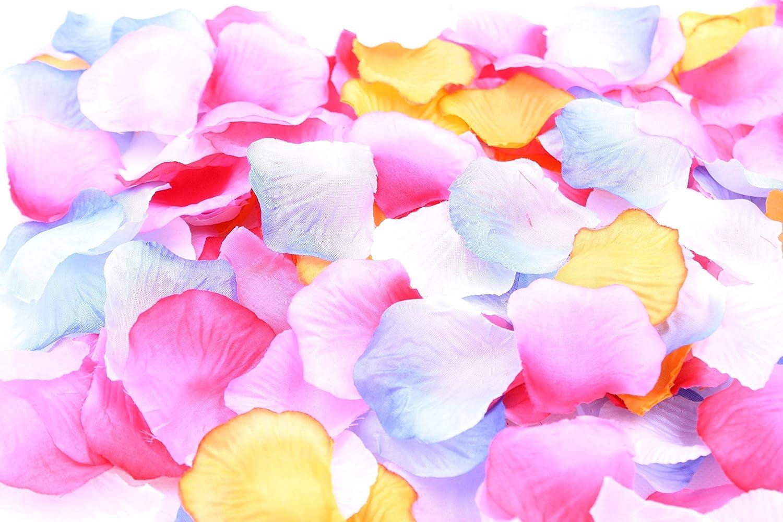 [XP Design Flower Shower Artificial Flowers Cherry Blossom Petals Anniversary 1200 Sheets Surprise (Gradient Four Dreams)