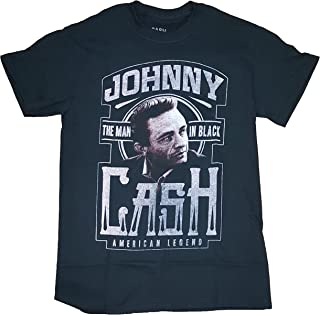Johnny Cash American Legend The Man in Black Graphic T-Shirt