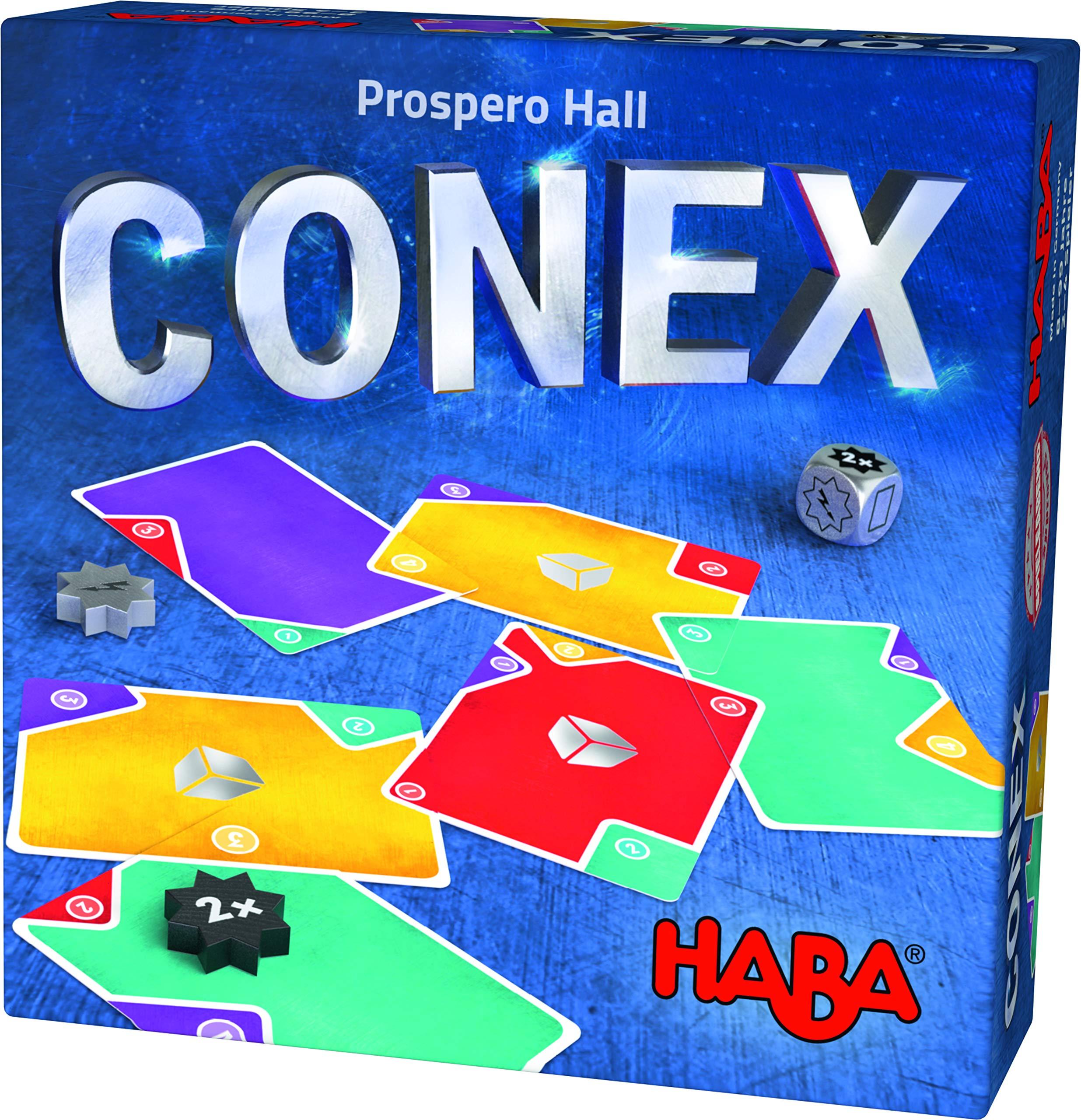HABA- CONEX Juego de Mesa, Multicolor (Habermass 303802): Amazon.es: Juguetes y juegos