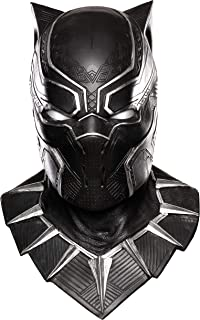 Costume Co. Men's Captain America: Civil War Black Panther Overhead Latex Mask