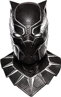 Rubie's Mens 68691 Captain America: Civil War Black Panther Overhead Latex Mask Costume Mask