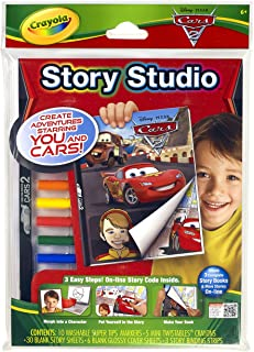 Crayola Story Studio Comic Maker Cars 2