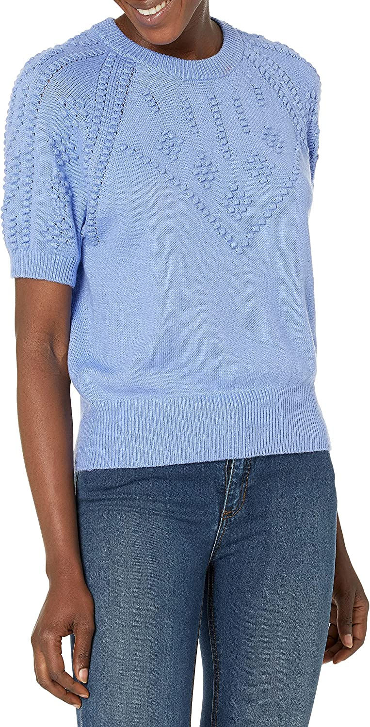 French Connection Women's Karla Knitted Short Sleeve Jumper