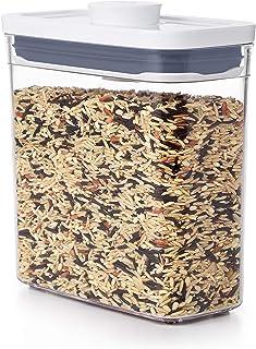 OXO Good Grips Boîte de conservation POP – Boîte de rangement alimentaire hermétique et empilable pour la cuisine - Rectan...