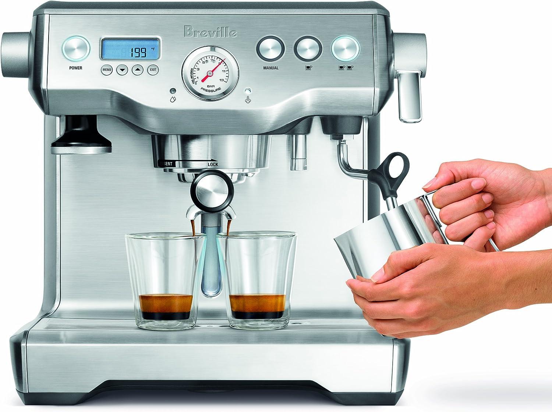 Black Sesame Breville The Dual Boiler Espresso Maker BREBES920BSXL ...
