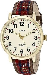 Timex Unisex TW2P69600AB Heritage Collection Analog Display Quartz Brown Watch