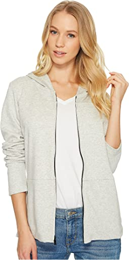 One and Only Long Sleeve Top Zip Fleece