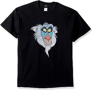 Disney Men's Lion King Rafiki Big Face Graphic T-Shirt
