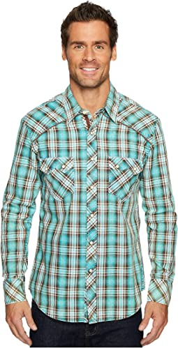 Rock and Roll Cowboy - Long Sleeve Snap B2S4129