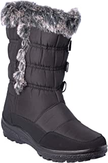 wolfsburg4 Women's Winter Boots Mid-Cap Fur Lining Cold-Weather Shoes