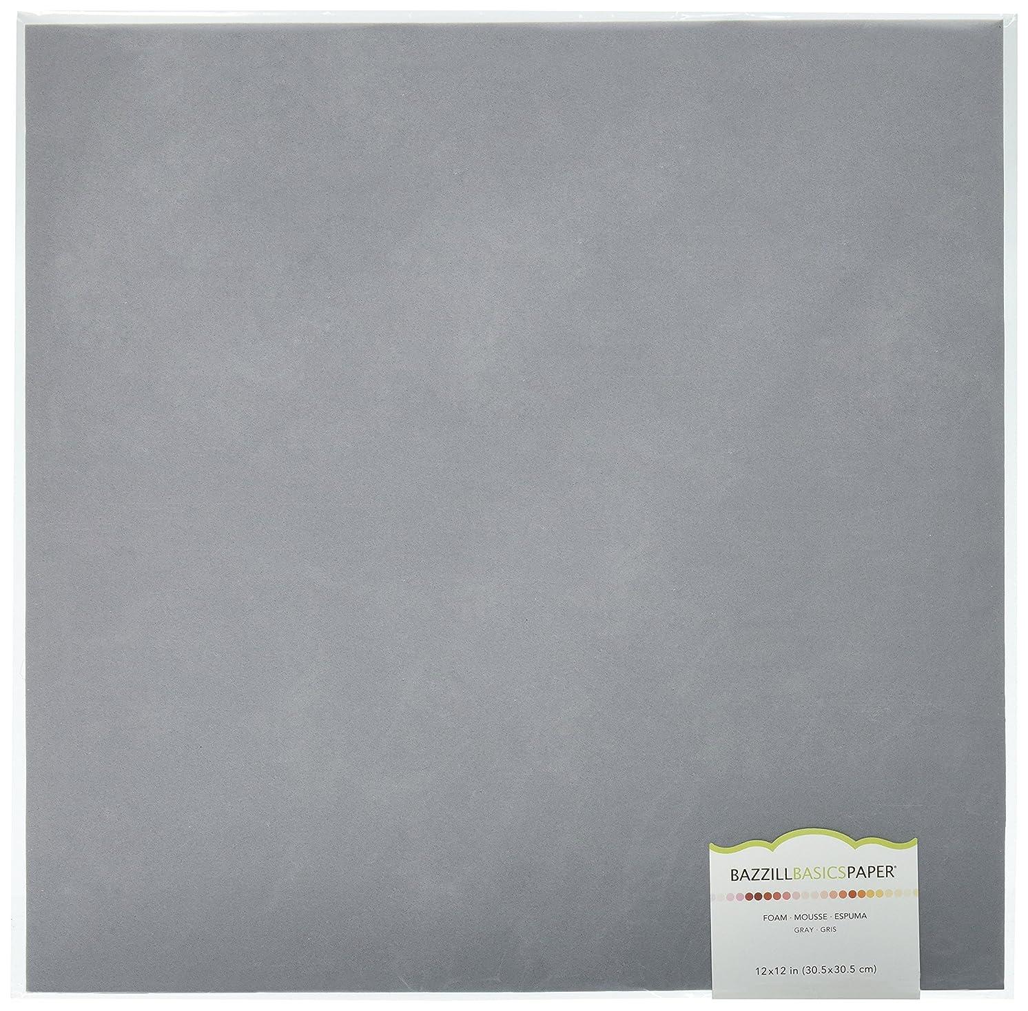 American Crafts Bazzill Basics Self Adhesive 2mm Foam Sheets, 12