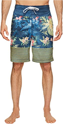 Speedo - Aloha Stripe E-Boardshorts