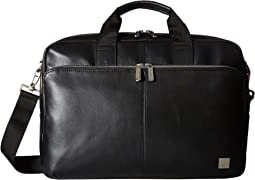 KNOMO London - Brompton Classic Amesbury Double Zip Briefcase