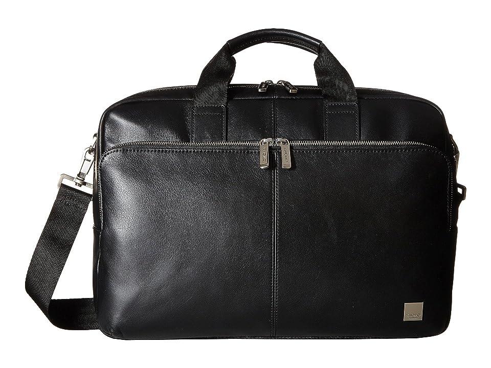 KNOMO London - KNOMO London Brompton Classic Amesbury Double Zip Briefcase
