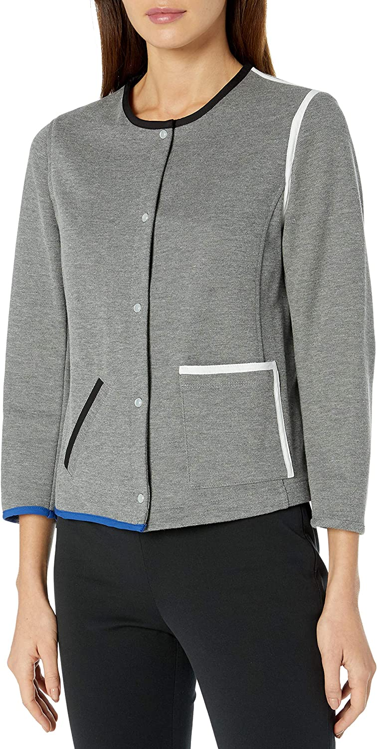 Anne Klein Women's Snap Front Bomber Sale Special Price Jacksonville Mall