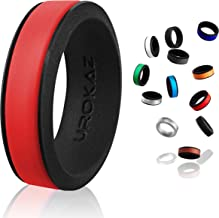 UROKAZ - Silicone Fashion Rings, The Only Ring That Fits Your Lifestyles - Whether You are Single or Married, Ring is Right for You - It is Fashionable, Flexible, and Comfortable