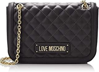 0354a8004 Love Moschino Women's Quilted Nappa Pu Shoulder Bag