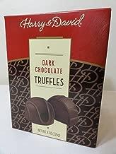 Harry & David Dark Chocolate Truffles 8 oz.