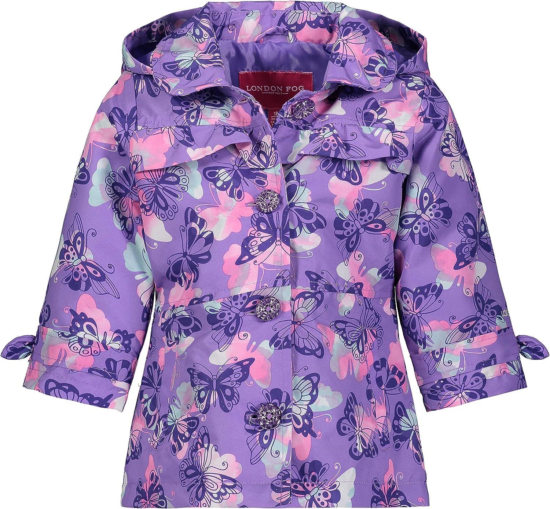 LONDON FOG Baby Girls' Li'l Lightweight Trench Dress Coat Jacket