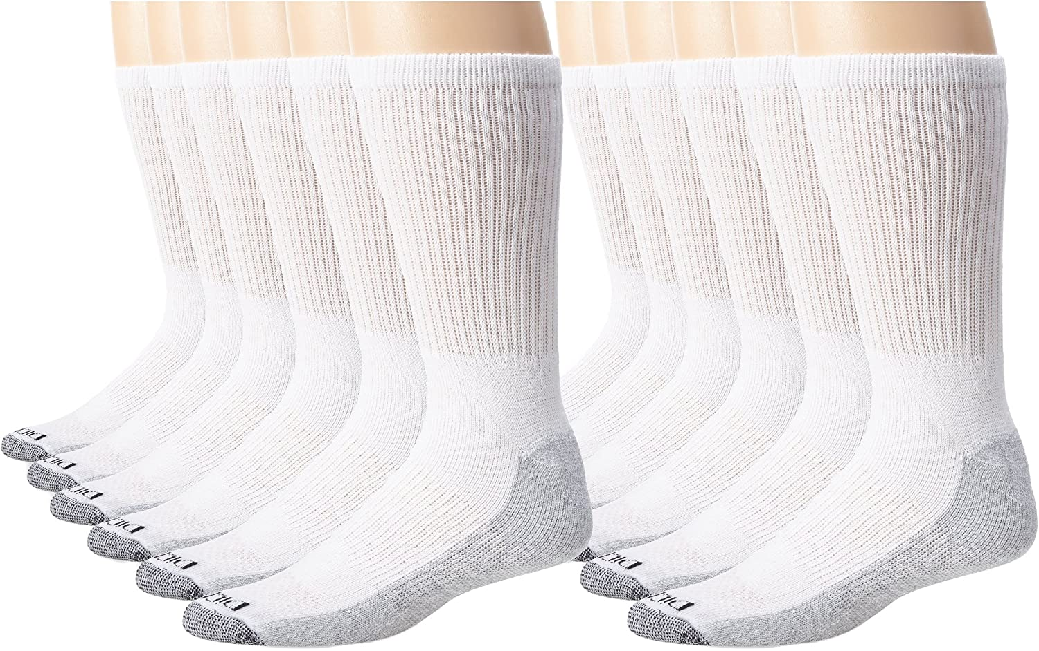 Dickies Men's Dri-Tech Comfort Crew Sock