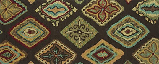 Loloi Olivia Collection Hand-made 100-Percent Polyester Area Rug, 2' x 5', Multicolor