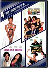 4 Film Favorites: Love & Laughs (King's Ransom / Love Don't Cost a Thing / Strictly Business / Thin Line Between Love & Hate)