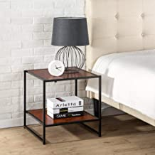 Zinus Modern Studio Collection Set of Two Bedside Tables | Night Stands | Side Tables