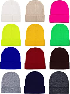 Cooraby Kid's Winter Beanies Knitted Warm Cold Weather...