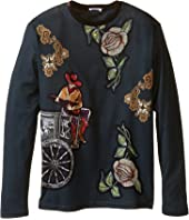 Dolce & Gabbana Kids - City Carretto Rose T-Shirt (Big Kids)