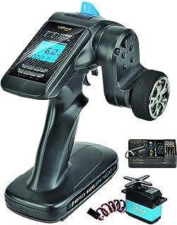 Carson 500500056 FS 3K ReflexWheel Pro3 LCD 2.4G étanche-Accessoires de véhicule, Compatible pour Kits, modélisme, y Compr...