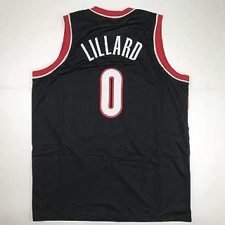 Unsigned Damian Lillard Portland Black Custom Stitched Basketball Jersey Size Men's XL New No Brands/Logos
