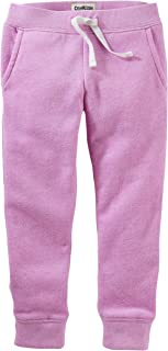 Osh Kosh Girls' Fleece Jogger Pants