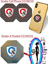Best EMF Protection CELL PHONE : Radiation Protection Tesla Technology EMF Shield WiFi, Laptop-All Devices| Global AWARDS Anti Radiation Shield, EMF Blocker Neutralizer, 3Pack