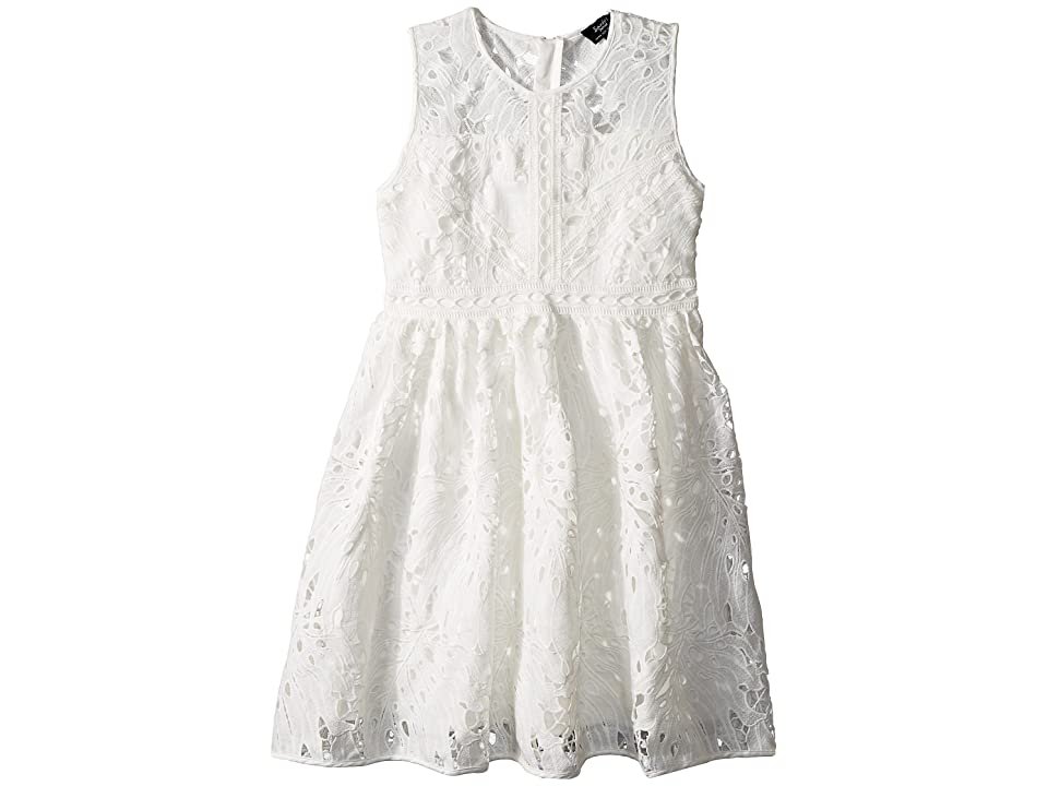 Bardot Junior Panama Lace Dress (Big Kids) (Ivory) Girl