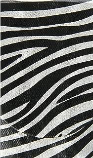 Boston International Silver Zebra Pocket Tissue Holder