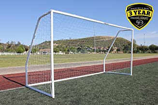 G3ELITE Pro 6x4 Regulation Youth Soccer Goal - Less Than Perfect Item, (2) Nets, Strongest Portable Steel Post Design w/Pa...