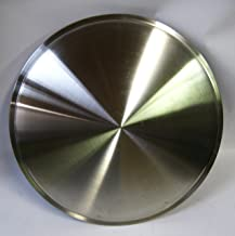 CCI IWCRD-15 15 Inch Clip On Stainless Steel Racing Disk Hubcaps - Pack of 4