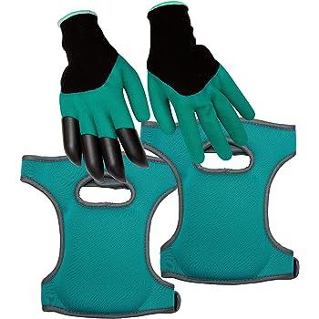 for Work in the Garden KIKFIT Blue Soft Garden Elasticated Foam Padded Knee Pads Cap Protector Comfortable Pads Kneeling MMA Sport S//M Injury Building Pain DIY