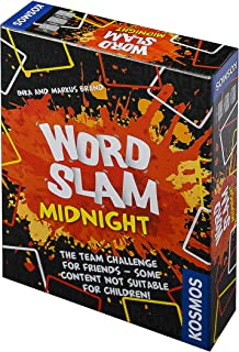 Thames & Kosmos 691196 Word Slam Midnight | The Team Challenge for (Grown-up) Friends | Adult Party Game, 3+ Players | Age...