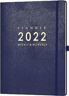"$24 » 2022 Planner - Weekly & Monthly Planner 2022, 8.5"" x 11"", Jan. 2022 - Dec. 2022, Pen Holder, Calendar Stickers, Pocket, 25..."